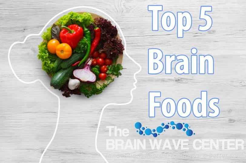 Top 5 Brain Foods